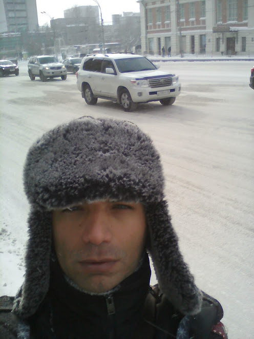 frio na siberia - Frio na Sibéria