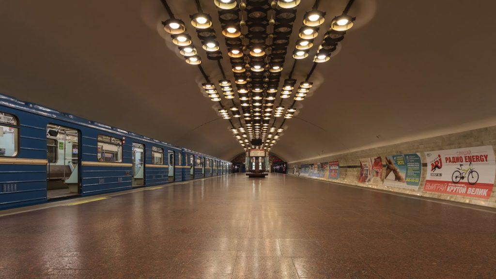 MetroNovosibirsk7 1024x576 - O metrô em Novosibirsk