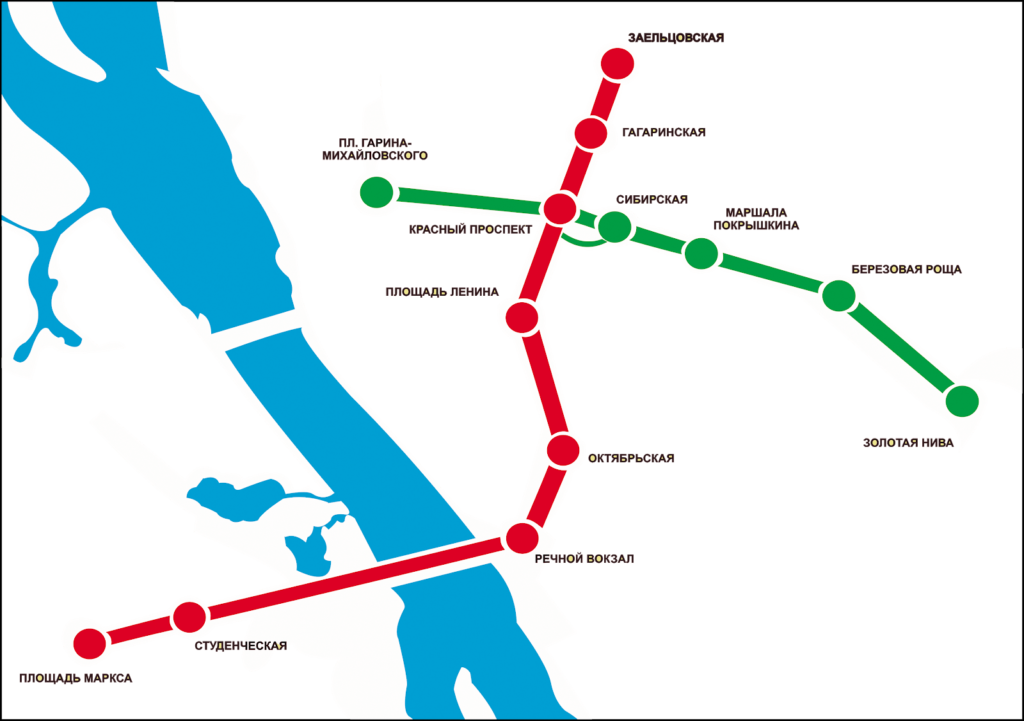 brasileiros na siberia 1024x721 - O metrô em Novosibirsk