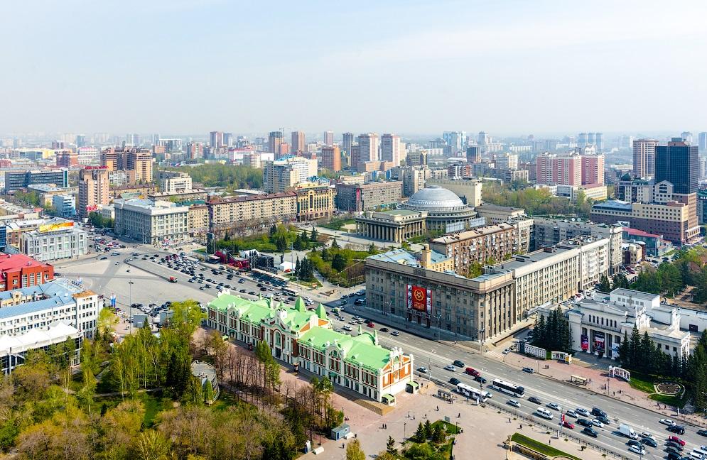 siberia russia 1 - Aniversário da cidade de Novosibirsk
