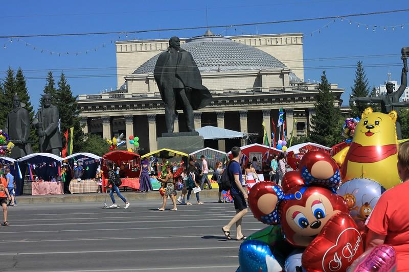siberia russia 15 - Aniversário da cidade de Novosibirsk
