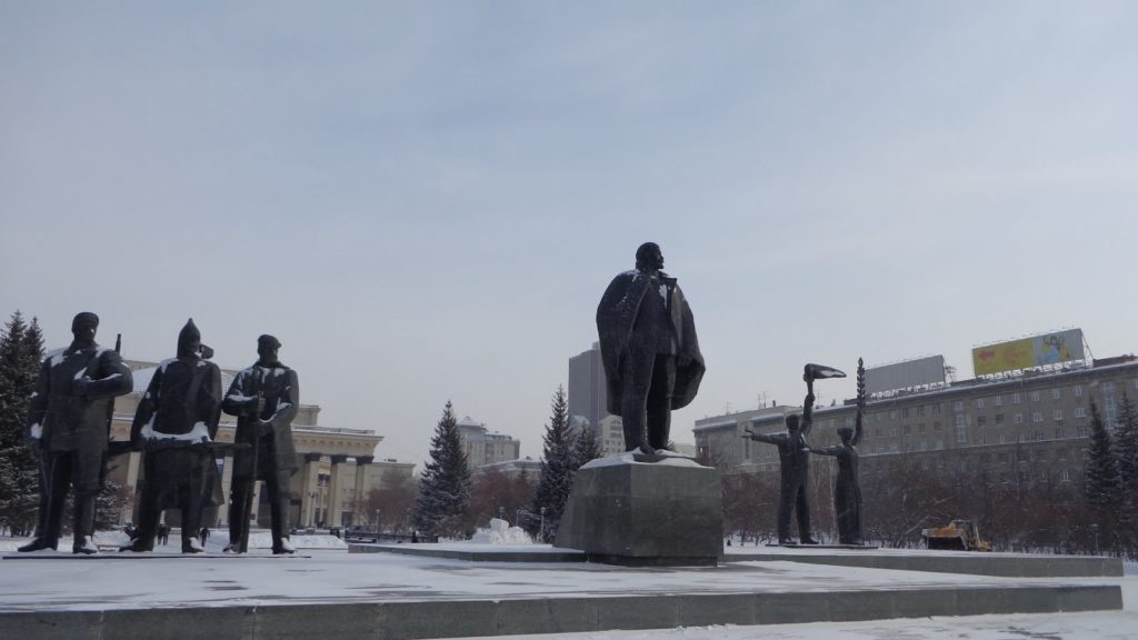 siberia pontos de interesse 6 1024x576 - A praça Lênin em Novosibirsk