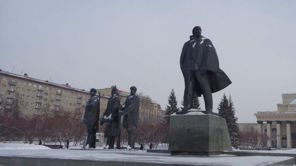 siberia pontos de interesse 7 1024x576 - A praça Lênin em Novosibirsk