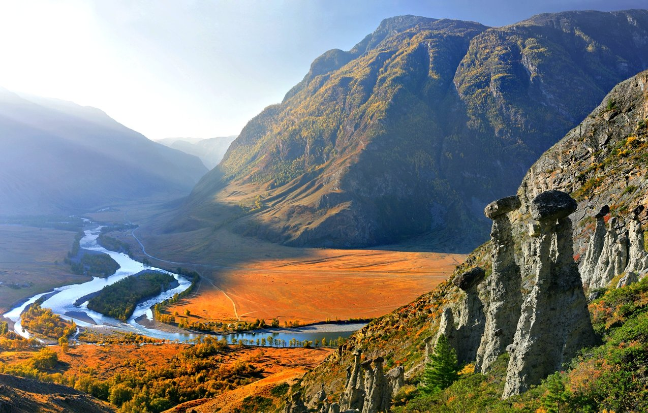 21 1 - 10 locais no Altay que vale a pena visitar