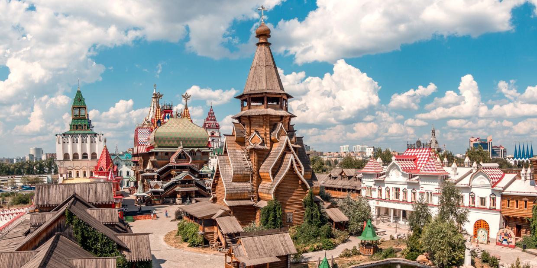 Panorama Izmaylovskogo kremlya - As cinco belezas únicas de Moscou
