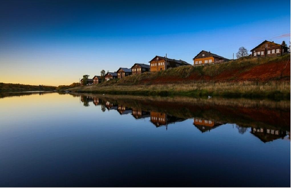 1 8 - Uma linda aldeia na Rússia