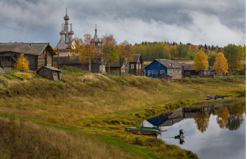 10 - Uma linda aldeia na Rússia