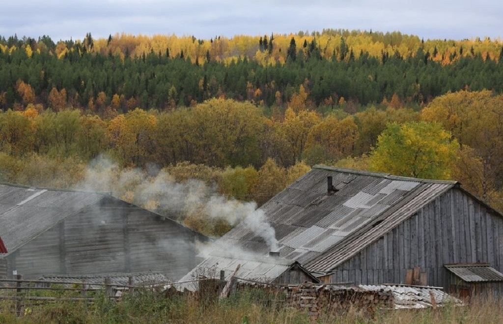 12 - Uma linda aldeia na Rússia