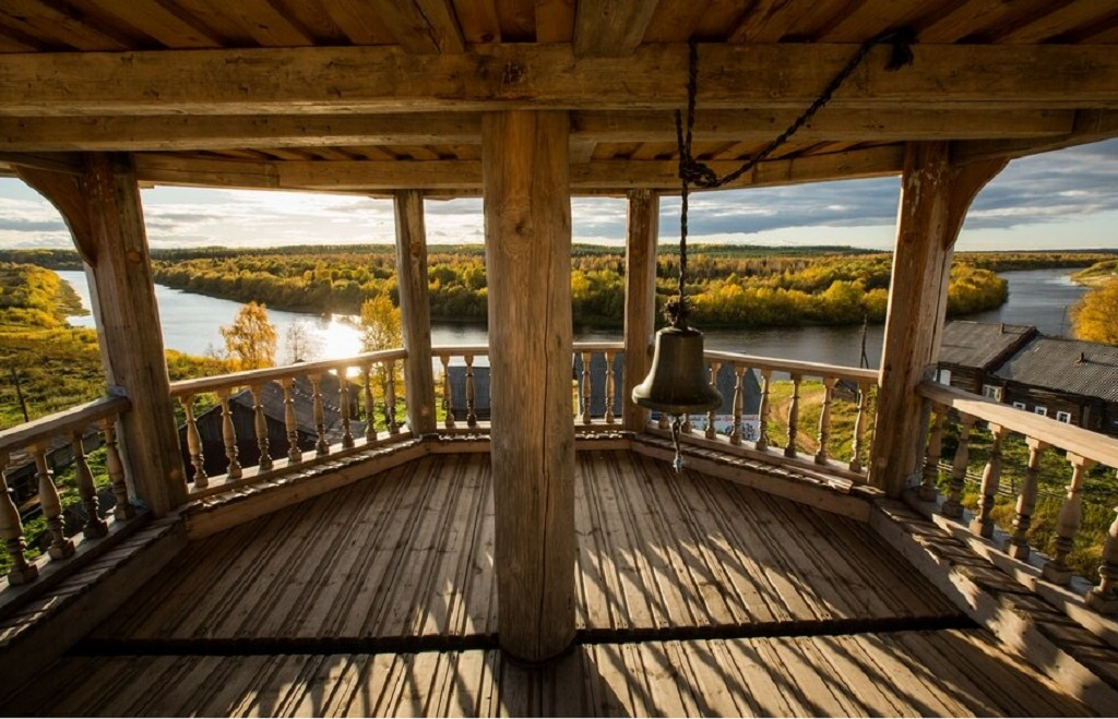 2 6 - Uma linda aldeia na Rússia