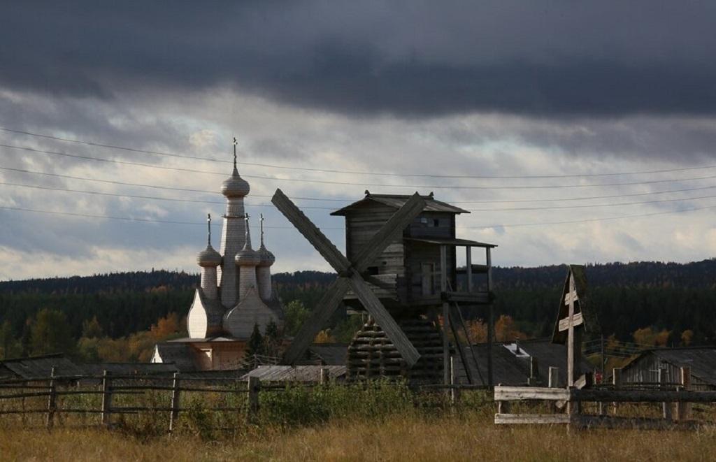 4 5 - Uma linda aldeia na Rússia
