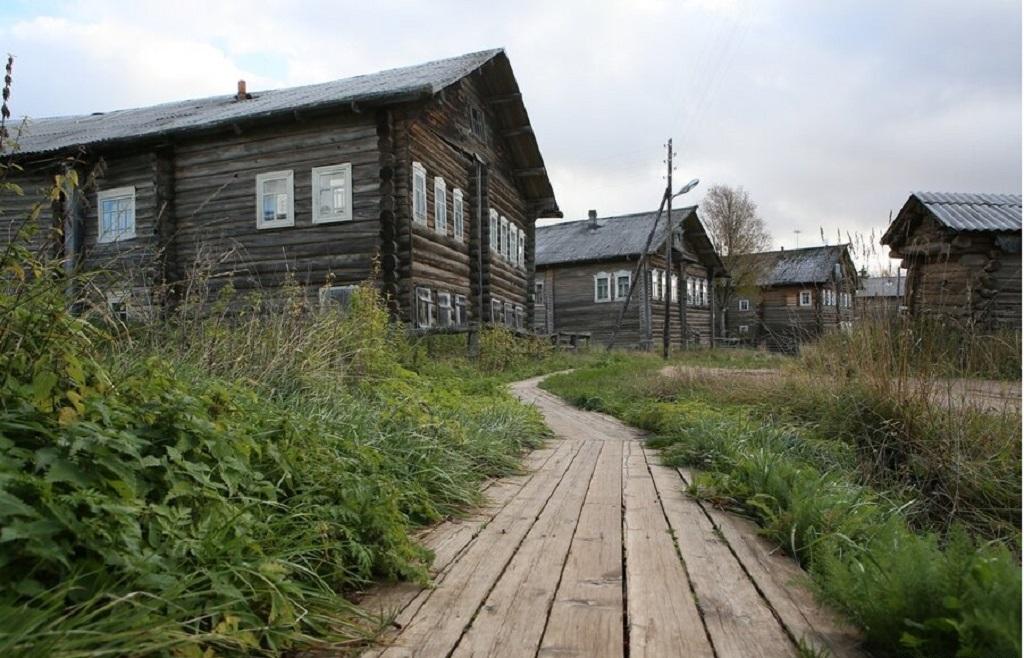 6 1 - Uma linda aldeia na Rússia