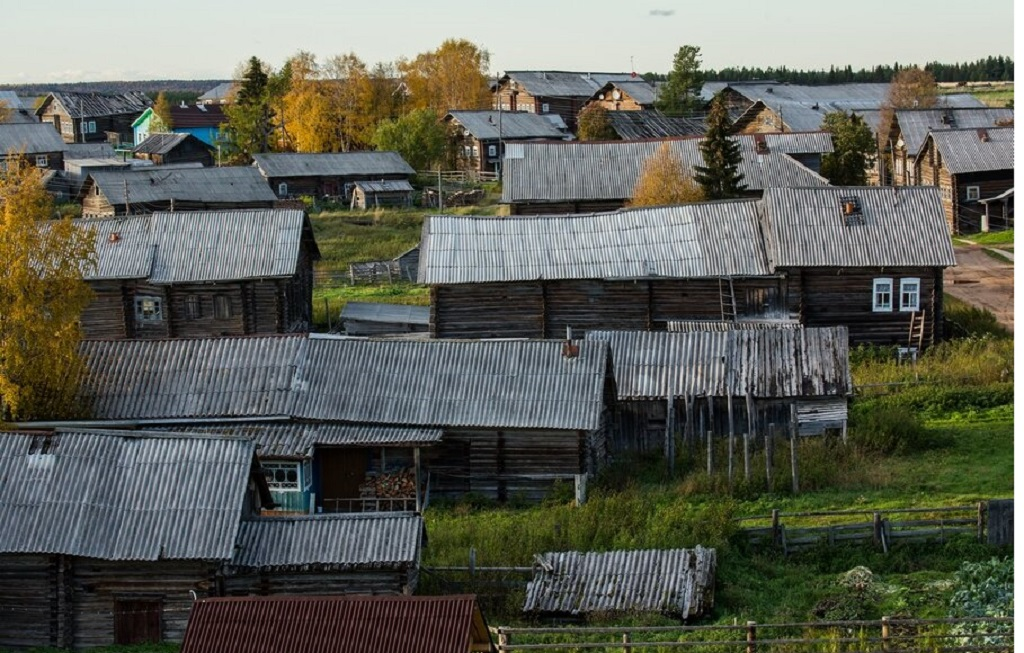 9 - Uma linda aldeia na Rússia