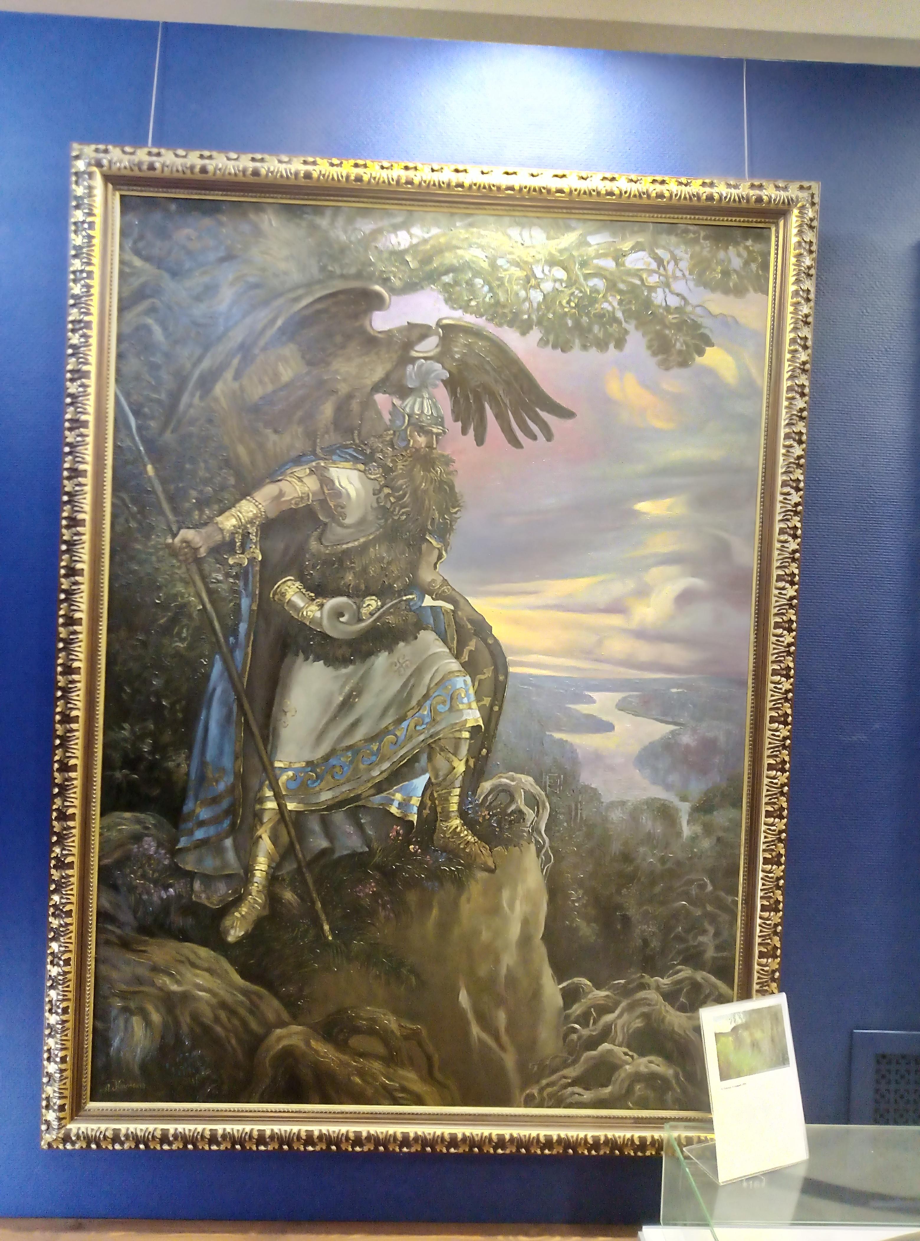2019 06 28 10 43 41 - O museu da mitologia eslava em Tomsk