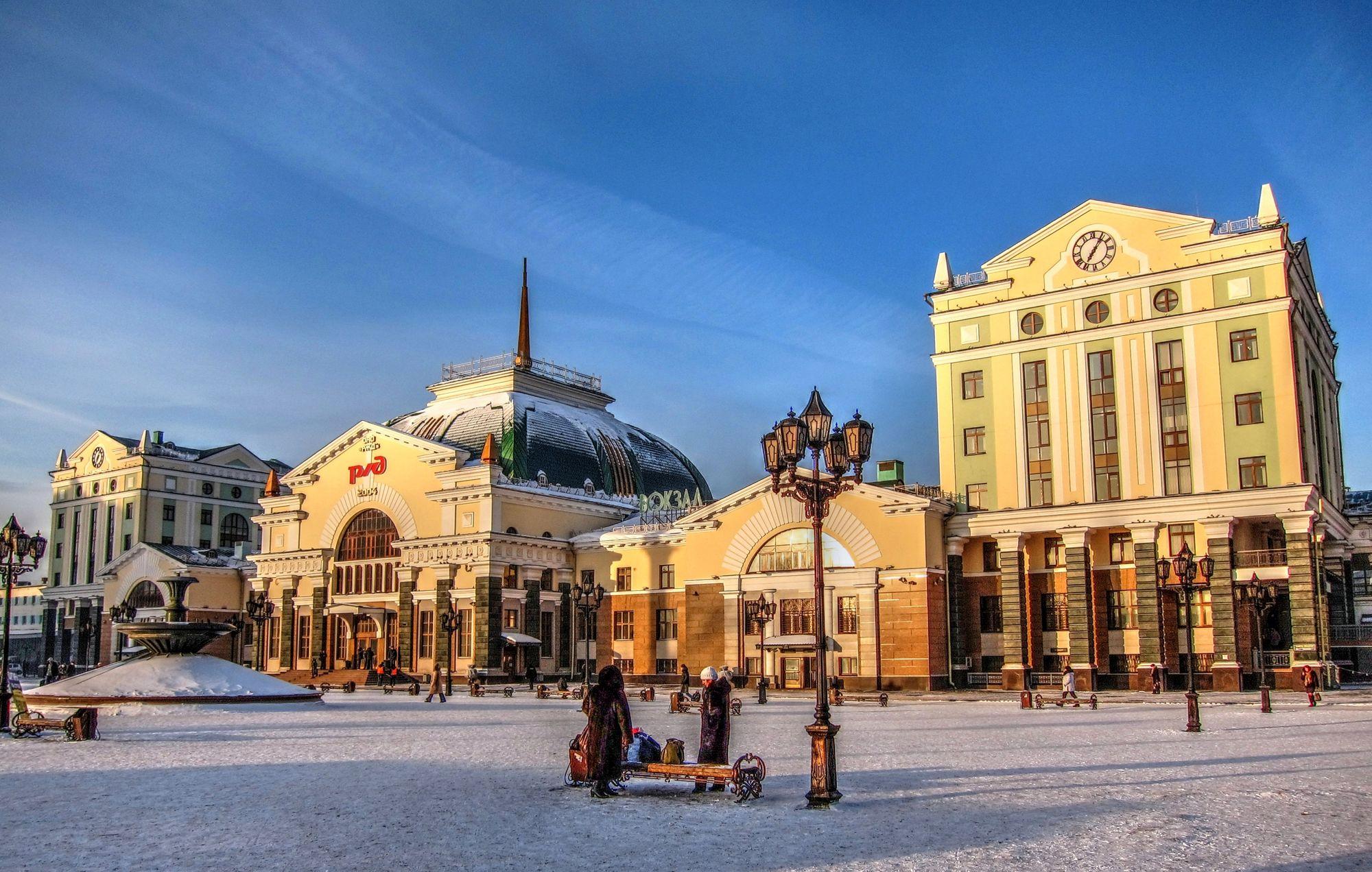 7 6 - As estações ferroviárias mais bonitas da Rússia